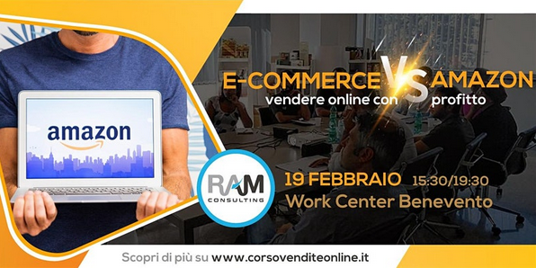 lezione di vendite online amazon vs ecommerce